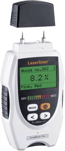 Anyagnedvesség mérőkészülék CM módszerű kiértékeléssel, LaserLiner DampMaster Data Plus