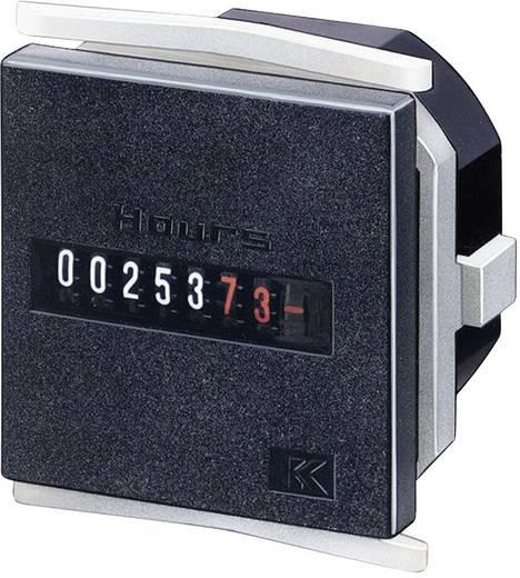 Üzemóra számláló modul 7 digites 20-30V/AC 0 - 99999.99 h Kübler H57