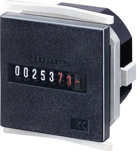 Üzemóra számláló modul 8 digites 10-30V/DC 0 - 999999.99 h Kübler H57