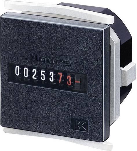 Üzemóra számláló modul 7 digites 187-264V/AC 0 - 99999.99 h Kübler H57