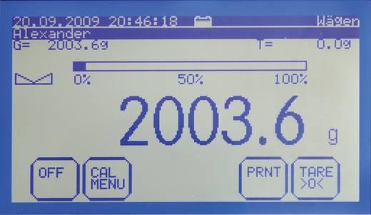 Asztali mérleg, max, 6,1 kg, 230V, Kern FKT 6K0.02L