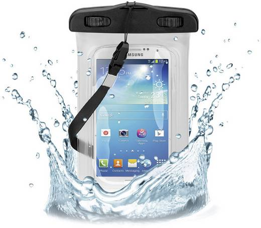 Univerzális vízálló hordtáska okostelefonokhoz Goobay Outdoorcase 64554