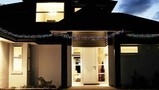 Kültéri fényfüzér, 8,5m 480 LED, színes, Polarlite PLC-06-001