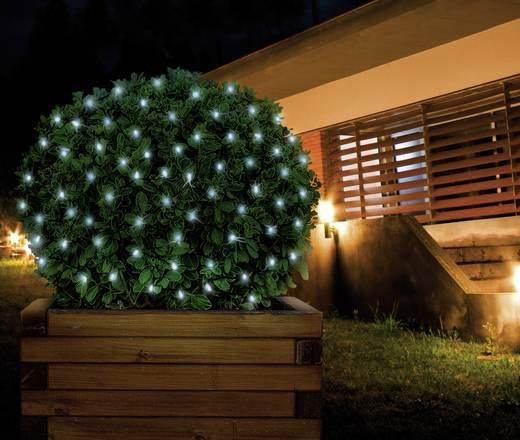 Kültéri fényháló, 200 LED-del, 230V/50 Hz, 300x200 cm, hidegfehér, Polarlite