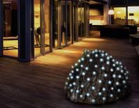 Kültéri LED-es fényháló, 200 db LED, 2 x 3 m, hidegfehér, Polarlite (PNL-01-002) Polarlite