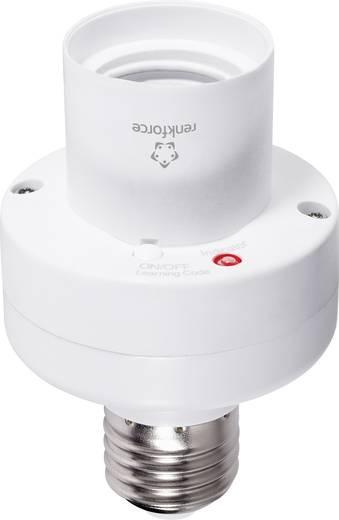 Vezeték nélküli lámpa foglalat max. 100W, 1 csatornás, max. 150m, fehér, renkforce RS2W