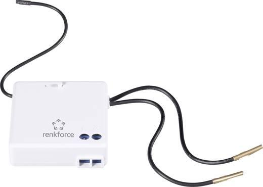 Vezeték nélküli, 1 csatornás beépíthető vevő, max. 300W, max. 150m, fehér, renkforce RS2W