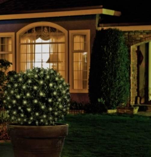 Kültéri LED-es fényháló, 96 db LED, 3 x 3 m, 230V, melegfehér, Polarlite