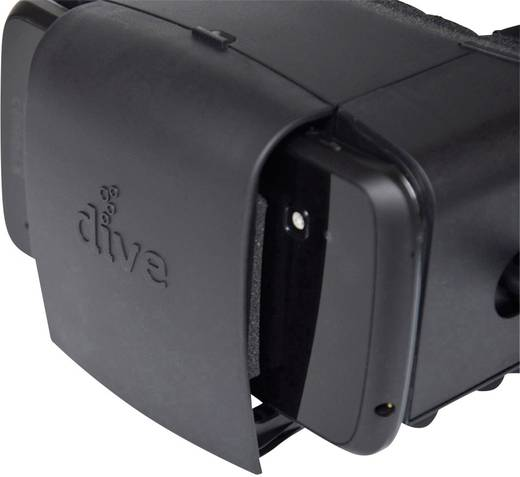 Számítógépes szemüveg Durovis Dive - Virtual Reality Fekete