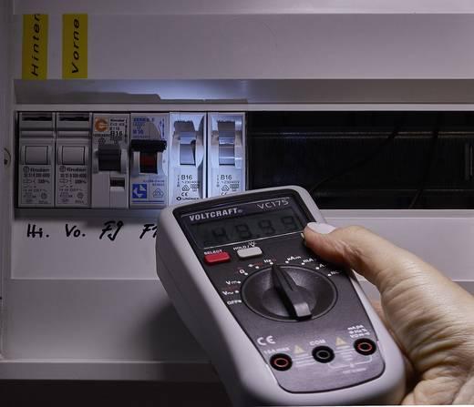 Digitális multiméter kitöltési tényező mérés, zseblámpa és kijelző háttérvilágítás 600V AC/DC 10A/DC Voltcraft VC175