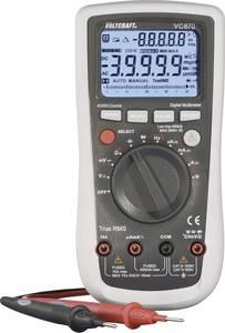 Digitális multiméter, True RMS, automata méréshatárváltás, hőmérséklet és teljesítménymérés, Voltcraft VC870 VOLTCRAFT