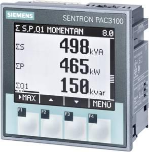 Siemens SENTRON PAC3100 Digitális beépíthető mérőműszer Többfunkciós mérőműszer SENTRON PAC3100 Legfeljebb 3 x 480/277 V Siemens
