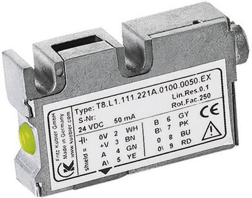 Mágneses mérőrendszer, lineáris 0 - 25 m/s, RS422-es illesztőegység, 100 µm Kübler LIMES LI20