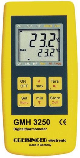 Greisinger GMH 3250 hőmérő műszer, -220 - +1768 °C (érzékelőtől függően), J, K, N, S, T