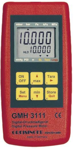 Greisinger GMH 3111 barométer, nyomásmérő műszer
