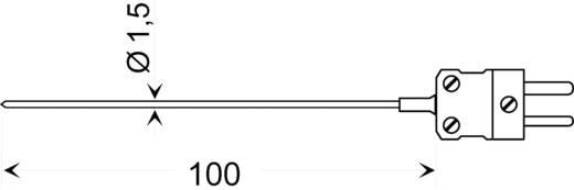 Greisinger GTE 130 OK Typ K beszúró hőmérséklet érzékelő mini hőelem csatlakozóval, -65 - +400 °C