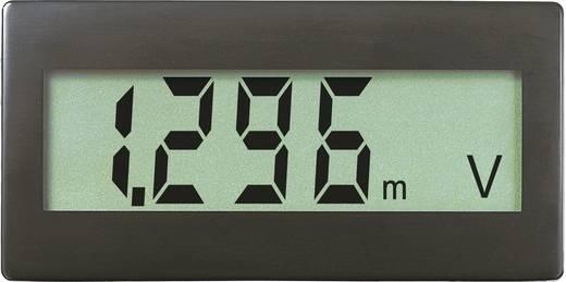 VOLTCRAFT®DVM-330 DCDigitális beépíthető mérőműszer, panel-méter Beépítési méret 68 x 33 mm