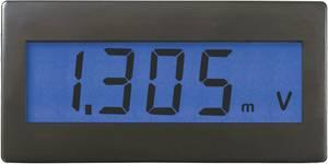 Voltcraft DVM 230B digitális feszültségmérő modul, panelműszer kék háttérvilágítással VOLTCRAFT