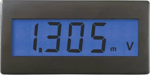 Voltcraft DVM 230B digitális feszültségmérő modul, panelműszer kék háttérvilágítással