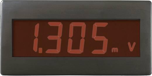 Voltcraft DVM330RN digitális feszültségmérő modul, panelműszer piros háttérvilágítással
