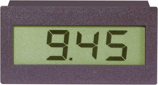 Digitális LCD panelműszer, feszültségmérő, voltmérő modul, LED háttérvilágítással Voltcraft DVM 310