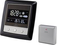 Vezeték nélküli időjárásjelző állomás, fekete/ezüst, Renkforce (KL4931) Renkforce
