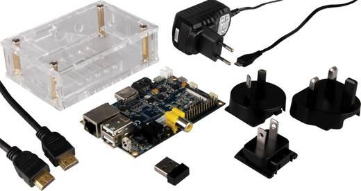 Banana Pi 1 GB-os meghajtó nélküli, komplett programozó építőkészlet WLAN-Stick-kel