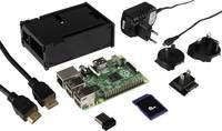 Raspberry Pi® Model B+ 512 MB PLUS komplett programozó építőkészlet WLAN-Stick-kel Raspberry Pi®