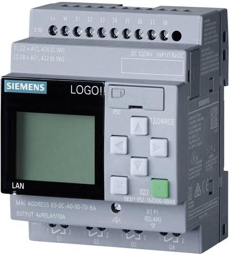 SPS vezérlőegység Siemens LOGO! 12/24 RCE 0BA8 6ED1052-1MD00-0BA8 12 V/DC, 24 V/DC