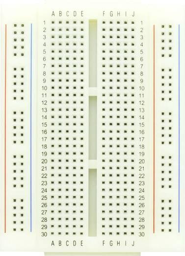 Dugaszolós próba panel, 400 pólus, 86.5 x 64.5 x 8.5 mm Conrad 0165-40-4-28010