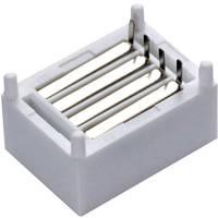 Dugaszolós próba panel, 16 pólus, 17.8 x 12.7 x 8.4 mm Tru Components 0165-4014-7-38010 Conrad Components