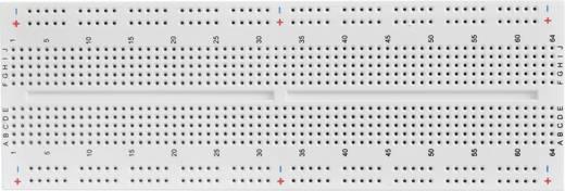 Dugaszolós próba panel, 840 pólus, 167,3 x 57,15 x 8,4 mm, Conrad 0165-40-1-32010
