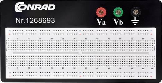 Dugaszolós próba panel, 840 pólus, 57.15 x 167.3 x 8.4 mm Conrad 0165-40-1-3201B