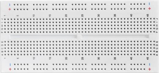 Dugaszolós próba panel, 610 pólus, 124.46 x 57.15 x 8.4 mm Tru Components 0165-40-1-33010