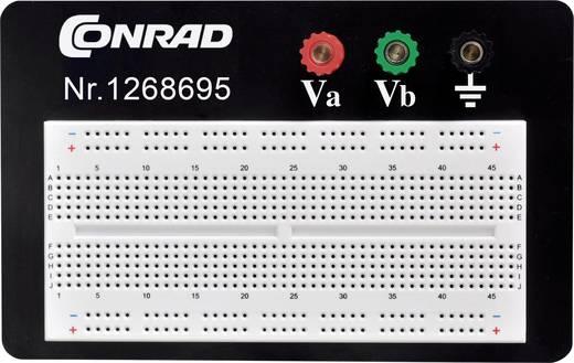 Dugaszolós próba panel, 1800 pólus, 114.3 x 186.2 x 8.4 mm Tru Components 0165-40-1-3301B