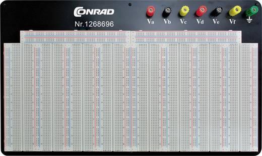 Dugaszolós próba panel, 6440 pólus, 400 x 245 x 8.4 mm Conrad 0165-4300-4-1160