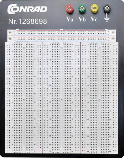 Dugaszolós próba panel, 2700 pólus, 186.2 x 171.6 x 8.4 mm Conrad 0165-40-1-32032