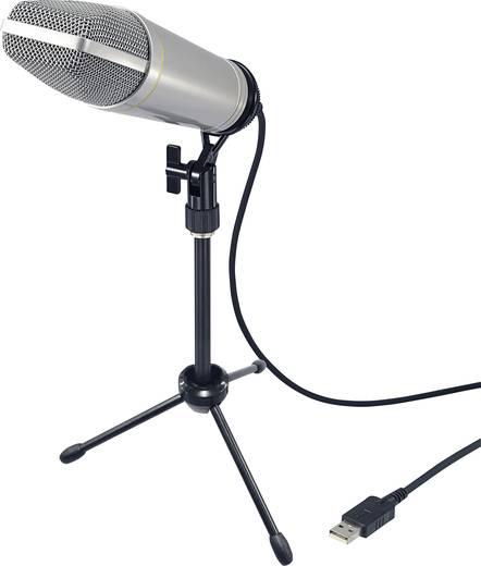 Profi USB-s stúdió mikrofon, Renkforce USB-S1