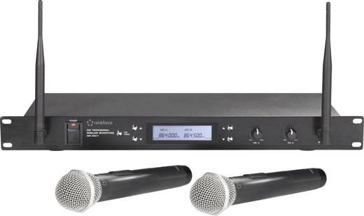 Vezeték nélküli mikrofon készlet, Renkforce UHF-2032