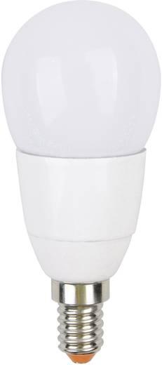 LED (RGB) JEDI Lighting 230 V E14 3.2 W RGB EEK: B Csepp forma (Ø x H) 45 mm x 106 mm Dimmelhető, Színváltó, Távirányítóval 1 db