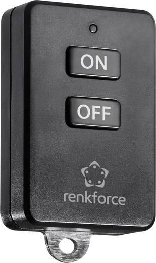 Kulcstartós, 1 csatornás távirányító, max. 150m, renkforce RS2W