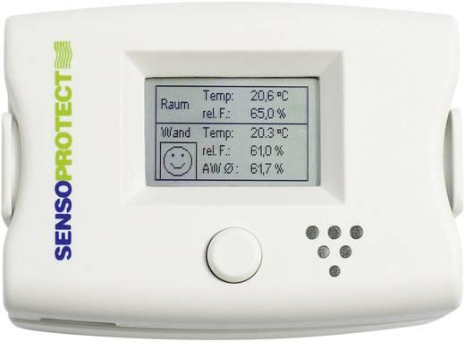 Hőmérséklet- és páratartalom érzékelő rendszer, penészesedés jelzés, Sensorit SensoProtect Premium