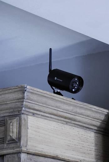 Vezeték nélküli biztonsági kamerarendszer, infrakamerákkal és HD-s rögzítővel Smartwares WDVR740S