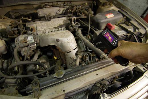 FLIR hőkamera, hőkamerás infra hőmérő 24:1 optika -25-tól +380 °C-ig Flir TG165
