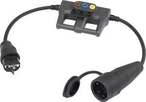 Árammérő adapter, mérésadapter lakatfogókhoz, banándugós csatlakozással Voltcraft DLA-16 1L VOLTCRAFT