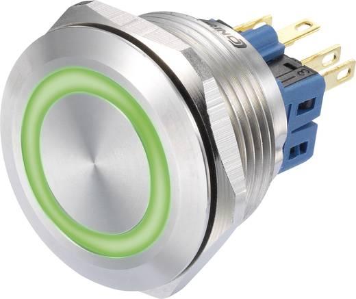 Nyomógomb 250 V/AC 3 A 1 x BE/(BE) Conrad GQ28-11E/G/12V IP65