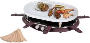 Raclette 8 serpenyővel, grillfunkcióval, grillkővel, fekete, EFBE Schott SC RAC 900 CC EFBE Schott