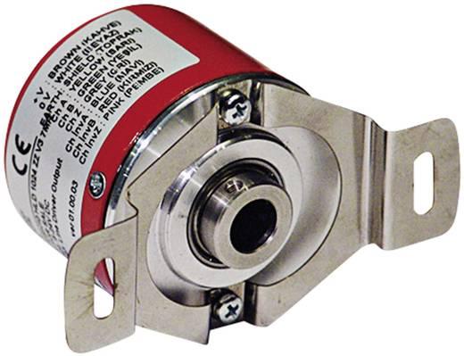 Inkrementális jeladó Opkon PRI 50H6 HLD 1024 ZZ V3 2M5R 1024 null, tengely átmérő: 6 mm
