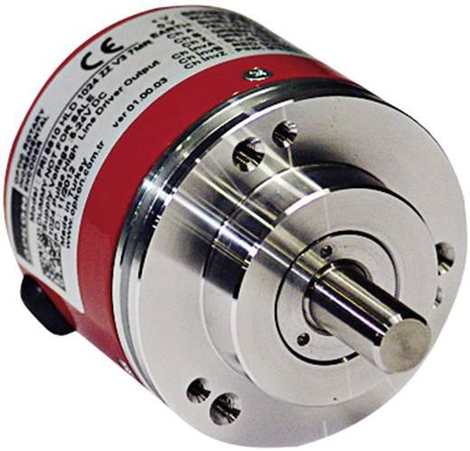 Inkrementális jeladó Opkon PRI 58AR8 HLD 500 ZZ V3 2M5R 500 null, tengely átmérő: 8 mm