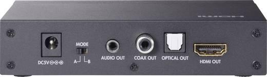 HDMI audio extraktor analóg (jack), optikai és koaxiális kimenettel, SpeaKa Professional